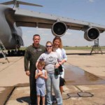 Channer family, a Boeing family, moves into The Ponds