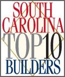 South Carolina Top 10 Builders logo